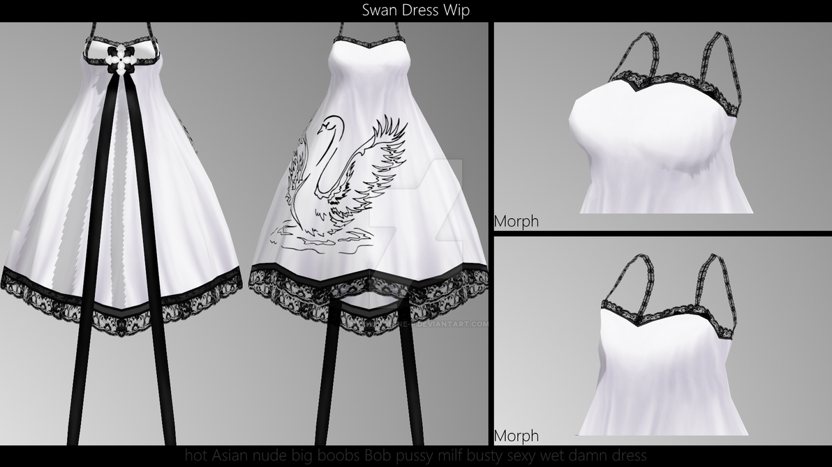 Tda Fitted Swan Dress Download Release By Nephnashine P On Deviantart