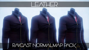 :DL: Leather Normalmap Materials for Raycast MMD