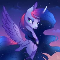Luna - Twilight mixish by Nekiw