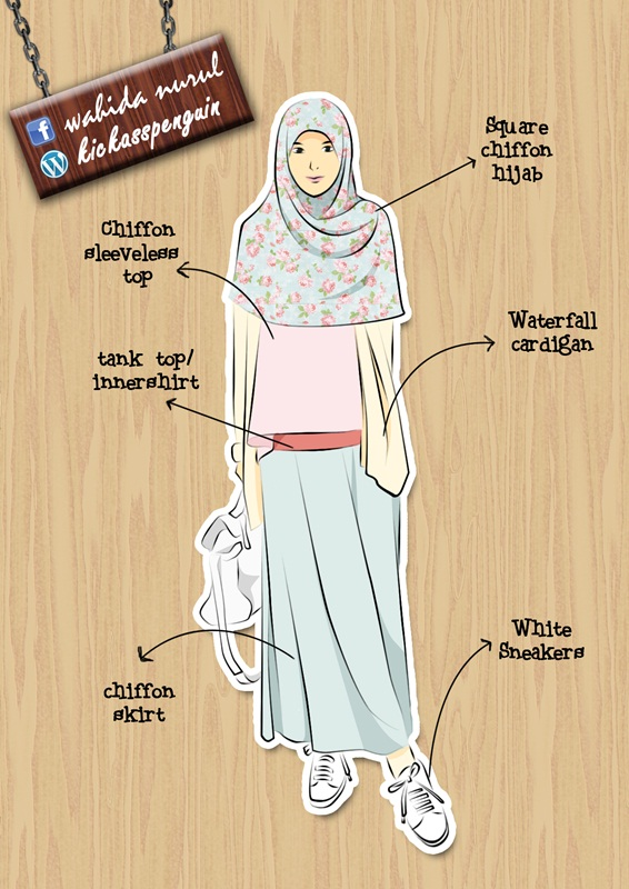 Casual Muslimah Fashion By Hamzahinsancita On Deviantart