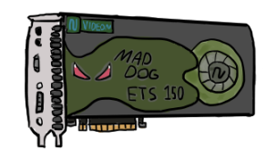 so uhhh here's a drawing of a video card by JohnathanTheShitpost