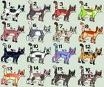 !!! CLOSED FREE  !!! Cat Adoptables