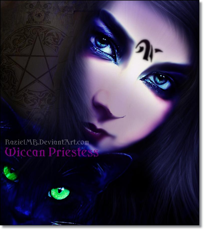 Wiccan Priestess by RazielMB