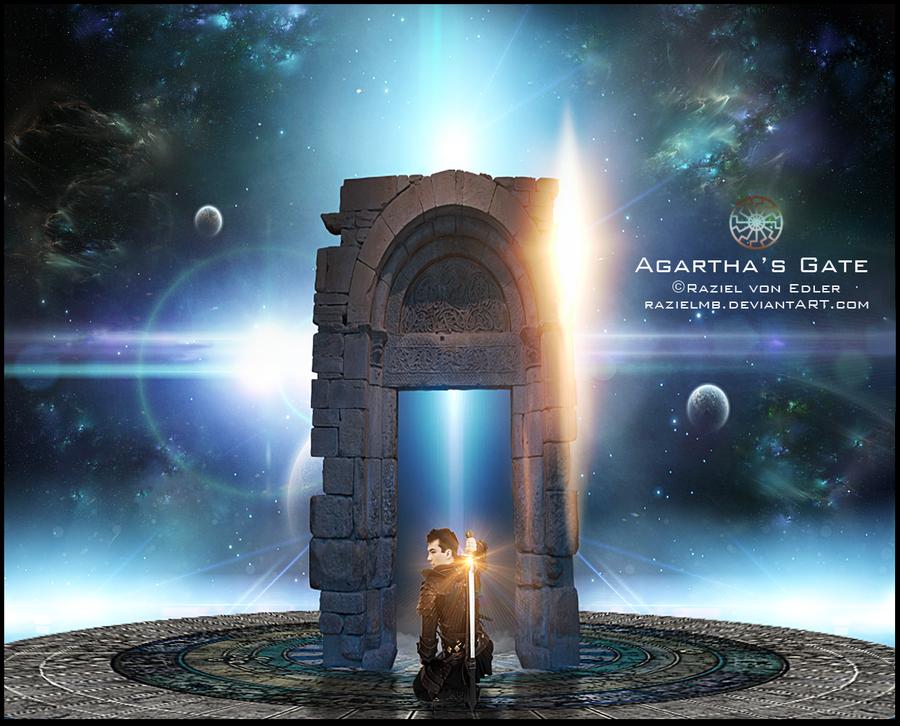 Agartha's Gate by RazielMB