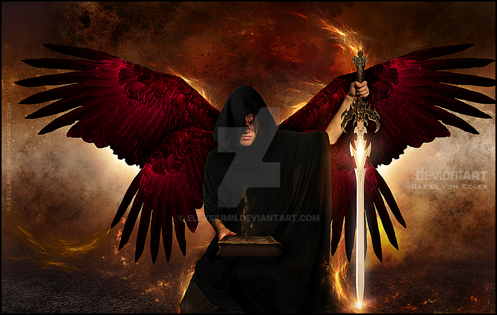 The Executor - Black Angel II by RazielMB