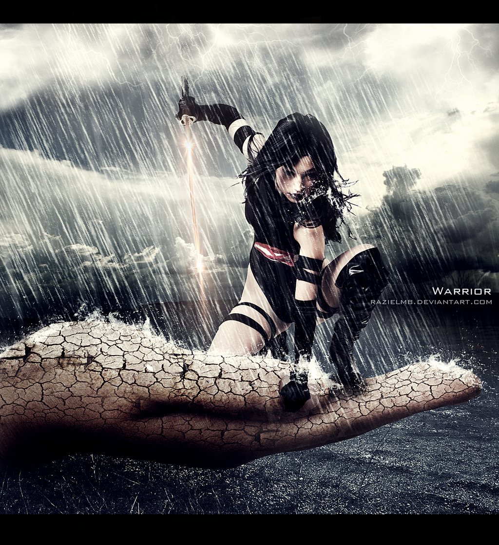 Warrior by RazielMB