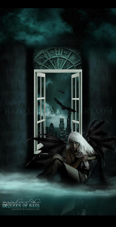 Queen of bats by RazielMB