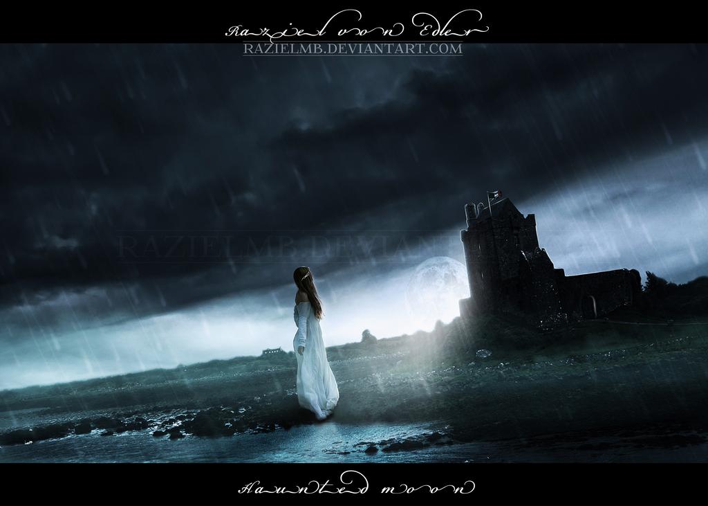 Haunted moon by RazielMB