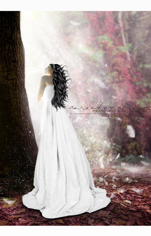 An angel on my way by RazielMB