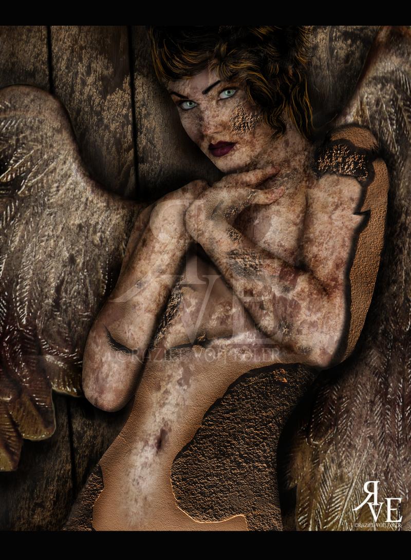 The Angel of Stone ~ Experimental work by RazielMB