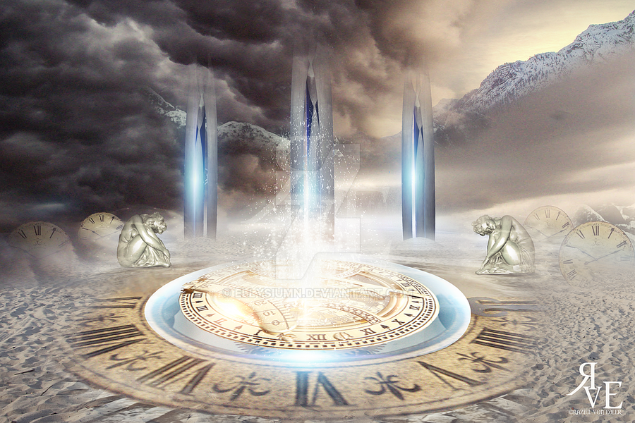 Ancient oracle: The place of endless time by RazielMB