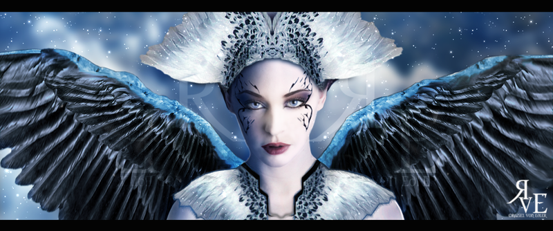 Shining Black Angel by RazielMB