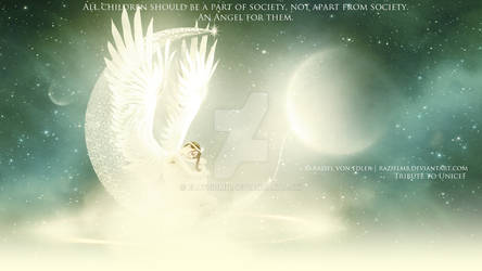 An Angel for them ~ IV Tribute to Unicef by Ellysiumn