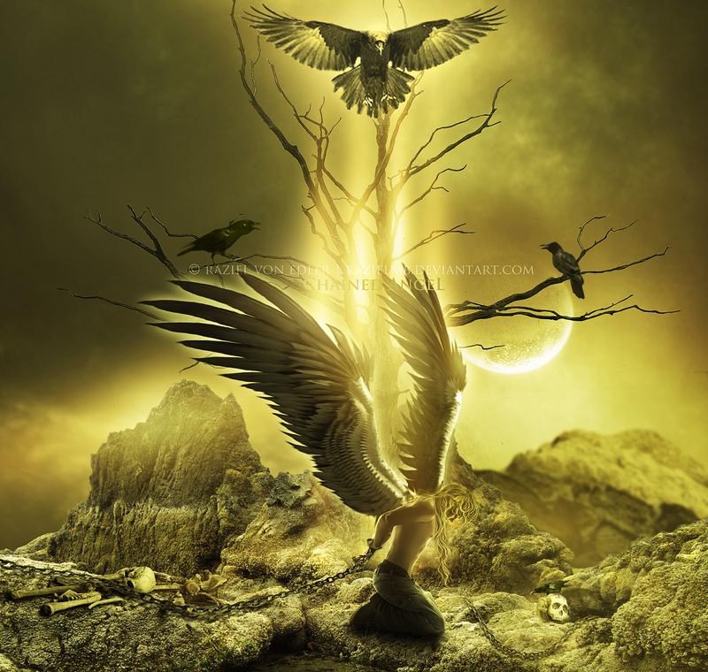 Chained Angel by RazielMB
