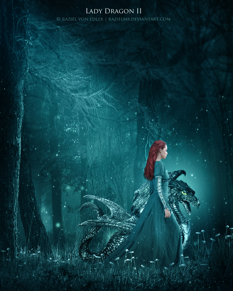 Lady Dragon II by GeneRazART