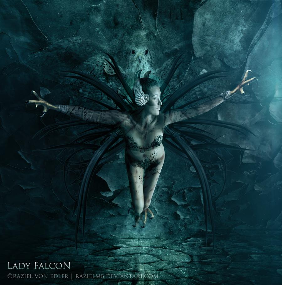 Lady Falcon by RazielMB