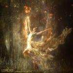 Cosmic muse by Ellysiumn