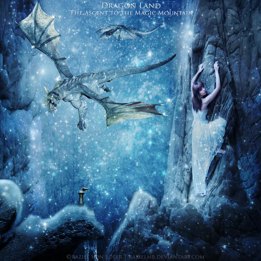 Dragon Land: The ascent to the Magic Mountain by RazielMB