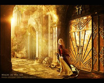 Magic in the air by Ellysiumn