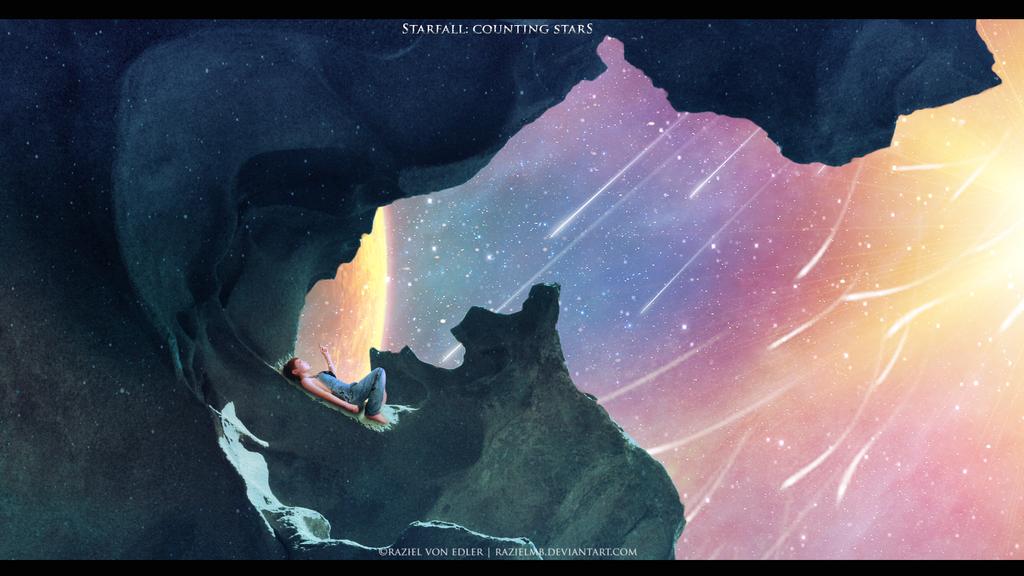 Starfall: Counting stars by RazielMB