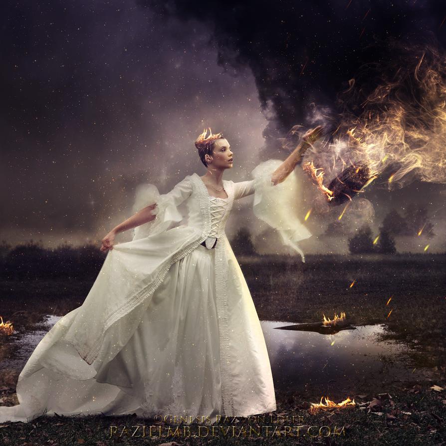 Wind on fire by RazielMB