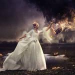 Wind on fire by Ellysiumn