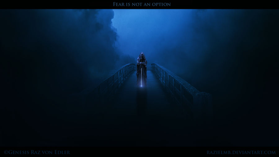 Fear is not an option by Ellysiumn