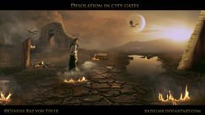Desolation in city Gates