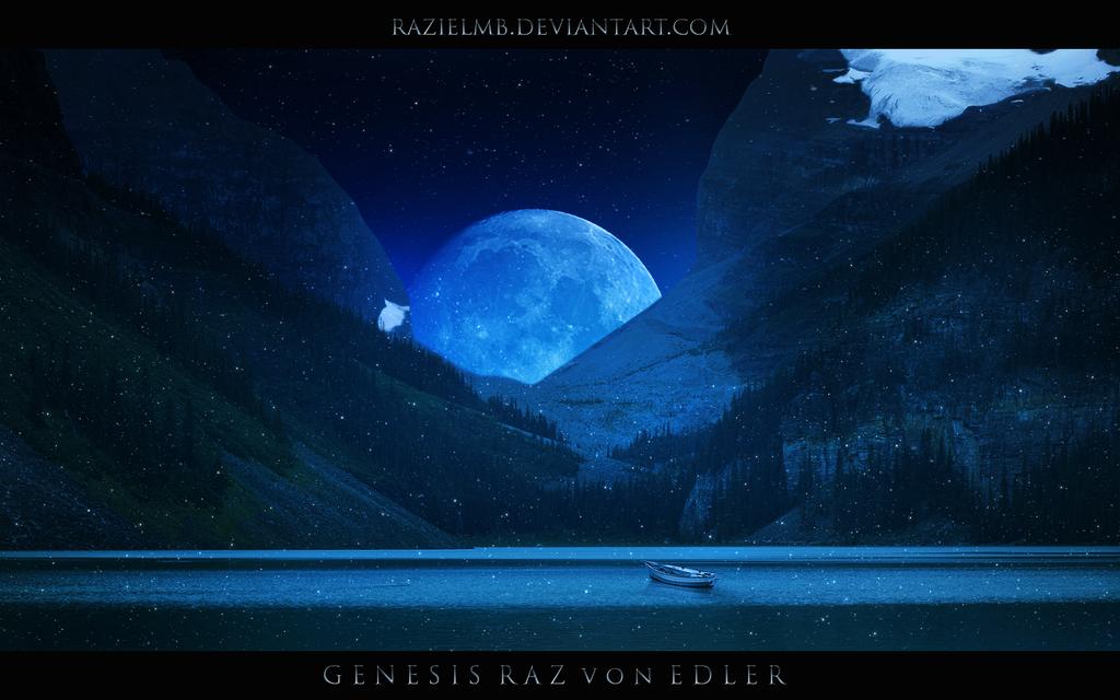 The magic lake by RazielMB