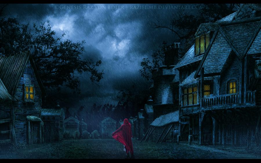 The wandering lady by RazielMB