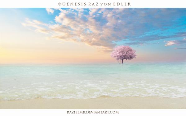 Mystic beach by RazielMB