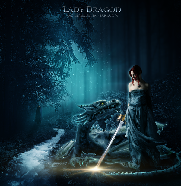 Lady Dragon  Anniversary Edition by RazielMB