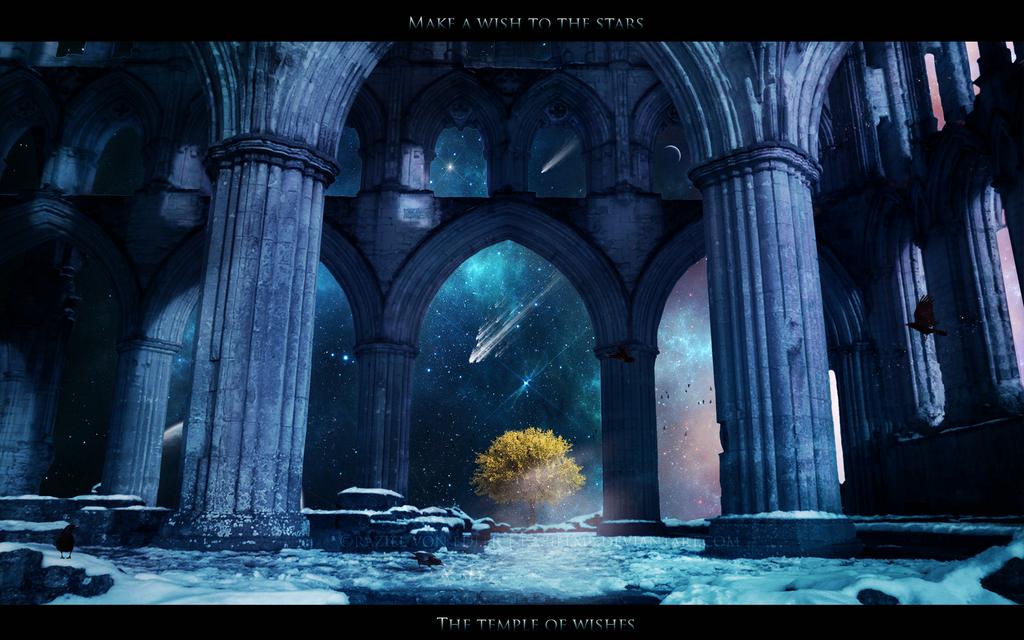 Make a wish to the stars by RazielMB