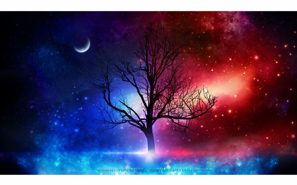 Between good and evil by RazielMB