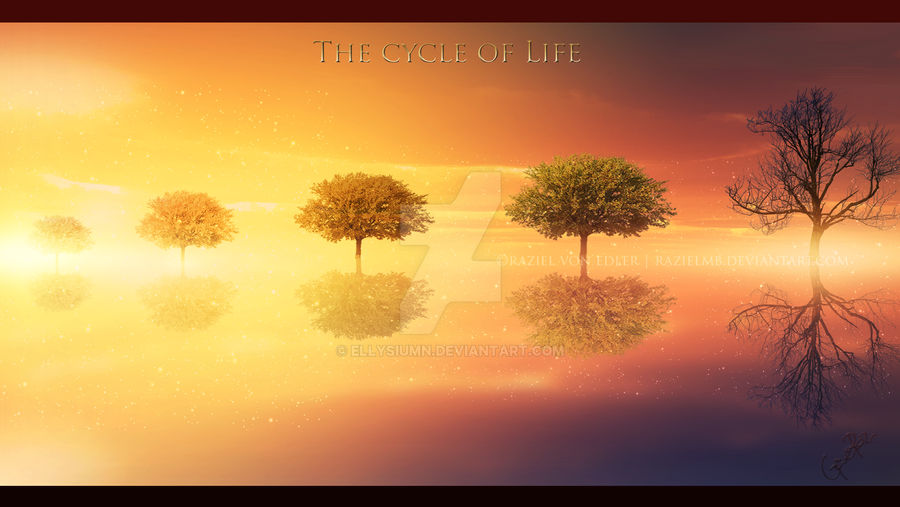 The cycle of life by Ellysiumn