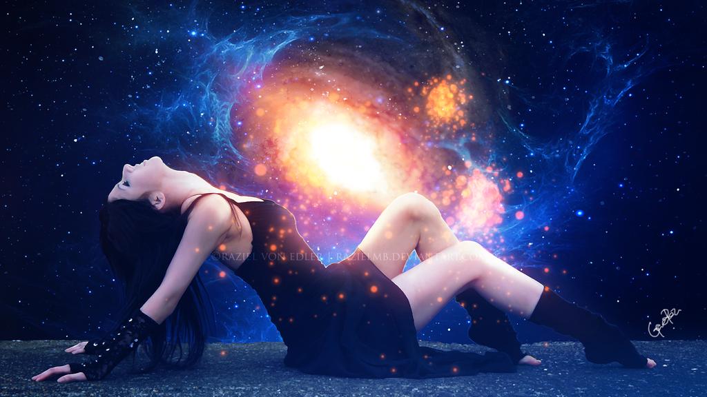 Cosmic baptism by RazielMB