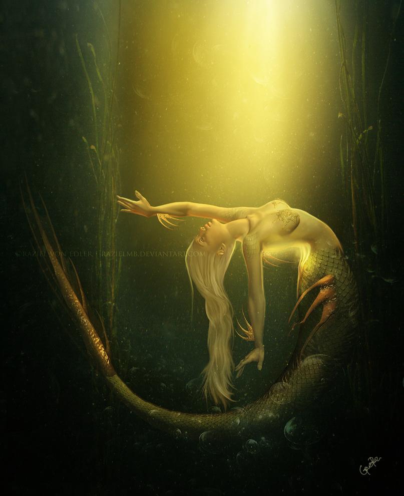 Light mermaid by GeneRazART