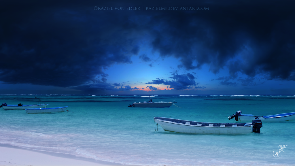 Incoming storm by RazielMB