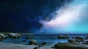 Giant Island by Ellysiumn