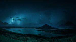 Dark storm by Ellysiumn