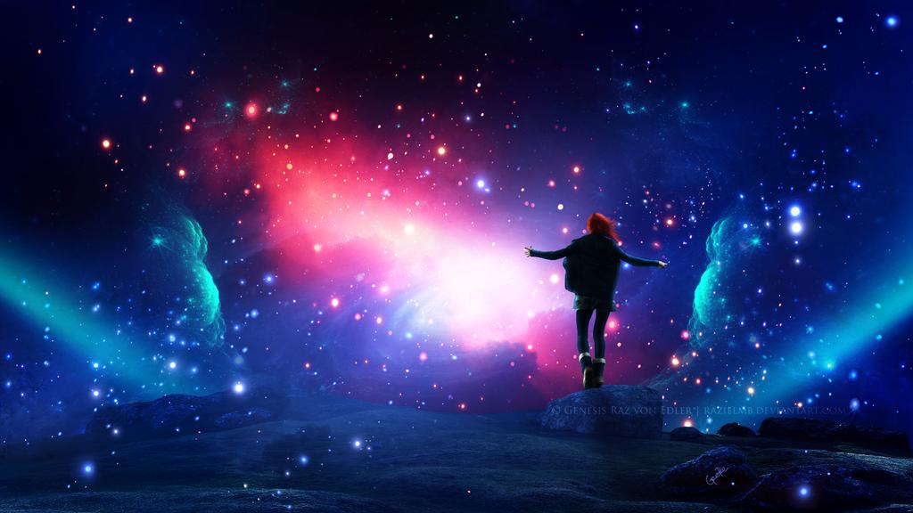 Cosmic Opening by GeneRazART