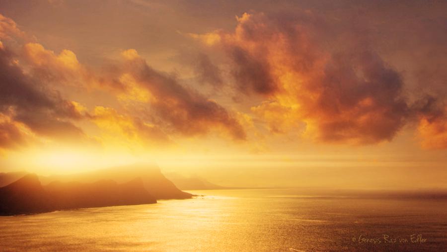 Golden Sea by RazielMB
