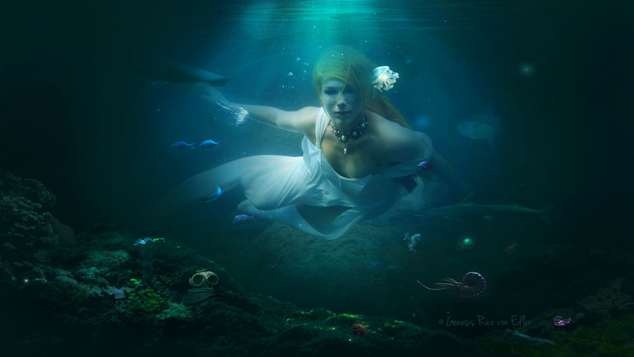 Hidden in the depths by Ellysiumn