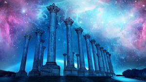 Temple of the gods by Ellysiumn