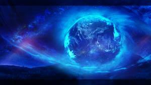 The cosmic eye by Ellysiumn
