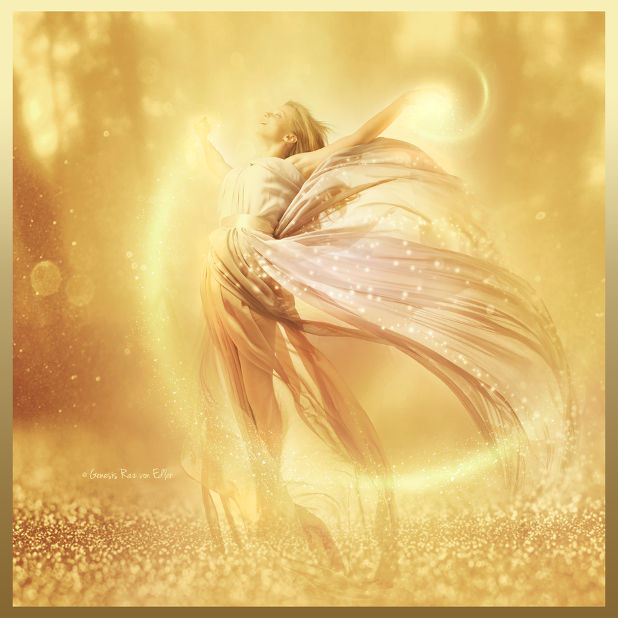 Goddess of Light by RazielMB