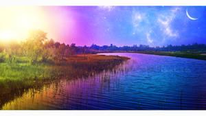 The big sun by Ellysiumn
