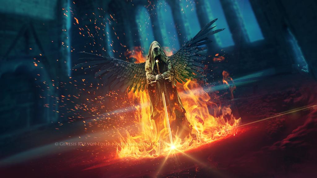 Wrath of Fire by RazielMB
