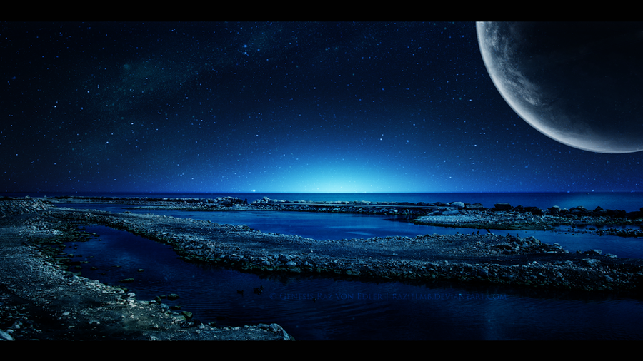 Dreams in Blue by RazielMB