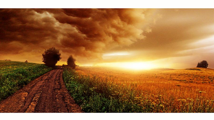 The last rays of light by RazielMB